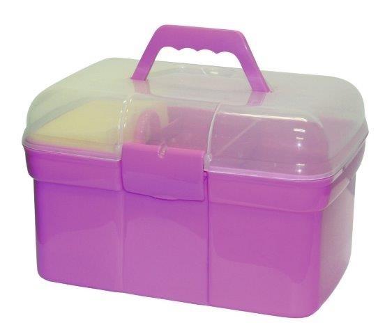 Putzbox befüllt