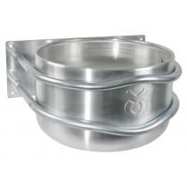Aluminium-Futtertrog rund