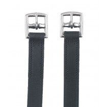 Steigbügelriemen Leder schwarz 130 cm