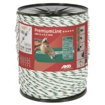 PremiumLine Weidezaunseil weiß/grün Ø 6,5 mm / 400 m