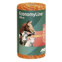 EconomyLine Weidezaunlitzen gelb/orange 250 m