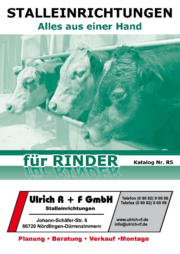 Katalog Rinder